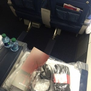 Enough legroom for me? Why, don't mind if I do, Delta