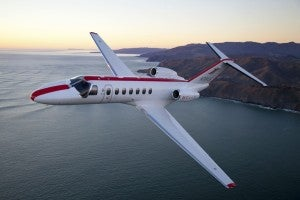 One of Jet Suite's flight of Cessnas