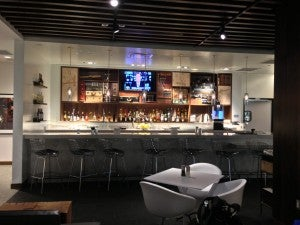 The Las Vegas Centurion Lounge bar