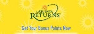 Get 300 bonus La Quinta points