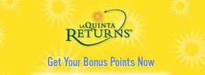 Get 300 bonus La Quinta points