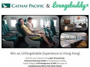 Win a trip to Hong Kong from LoungeBuddy.