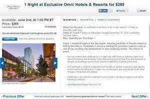 Omni Hotel deals