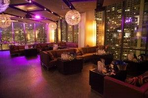 The Vertigo Sky Lounge at Chicago's Dana Hotel and Spa
