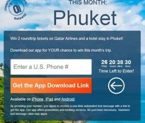 Win a trip to Phuket, Thailand with CheapOair.