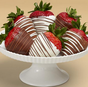 Get 15 Ultimate Reward points per dollar spent on anything at ProFlowers, even these chocolate covered strawberries.