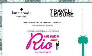 Win a trip to Rio de Janeiro, Brazil