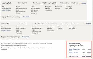 $15k ticket for $140k miles? Sign me up!