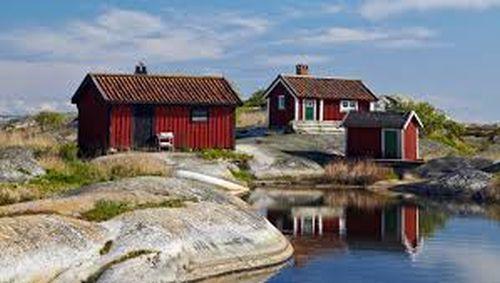 Sandhamn, Sweden.