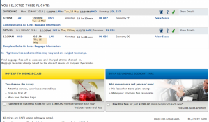 Non-stop round-trip itinerary from LAX-HND, May 13-15, 2014 for $1,115 before taxes/fees