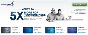 Earn5x on cable, phone and internet charges!