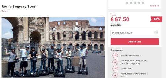Segway Tour Rome