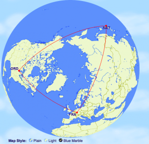 US Airways allows round-the-world routing on many international awards