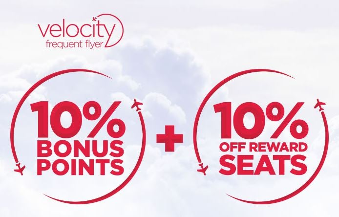 Get 10% off on Virgin Australia awards.