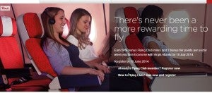 Earn 50% more Flying Club miles for economy Virgin Atlantic flights.