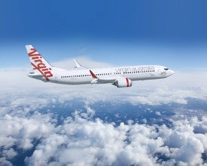 """Virgin Australia...not a true """"low-cost"""" but save a few bucks with their saver lite fares!"""