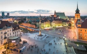 Flexible scheduling will make your travel plans easier, and might get you a few extra hours in Warsaw!