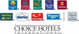 Choice Hotels points can be used for hotels or transferred to airlines.