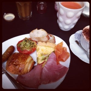 Seriously, W Paris-Opera - way to go on your Continental breakfast
