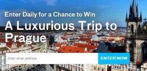 Win a trip to Prague