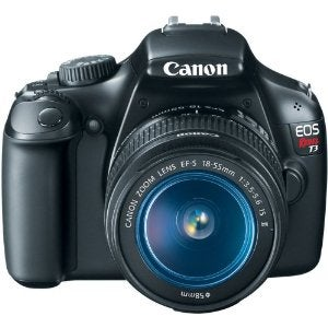 This Canon EOS Rebel T3 DSLR can be yours!