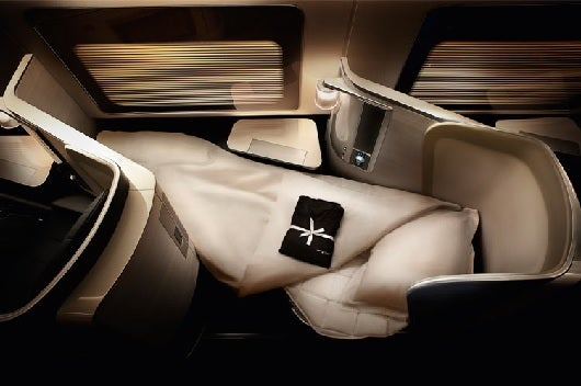 British Airways new first class product.