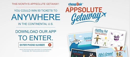 Win 50 tickets to travel the US