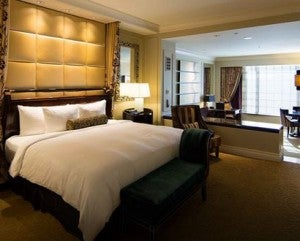 A suite at the Palazzo hotel in Las Vegas is featured on the June 13th Daily Getaway