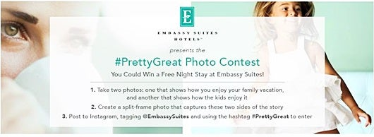 Win a free night at Embassy Suites