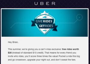 Free Uber Ride