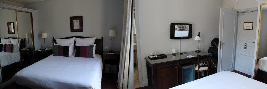 Standard Bedroom at the Hôtel du Louvre