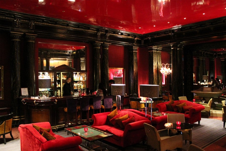 Lobby Bar at Hôtel du Louvre