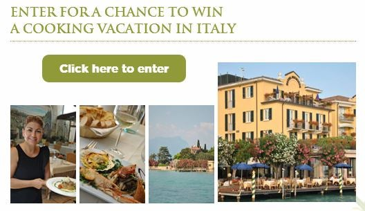Win a cooking vacation to Italy