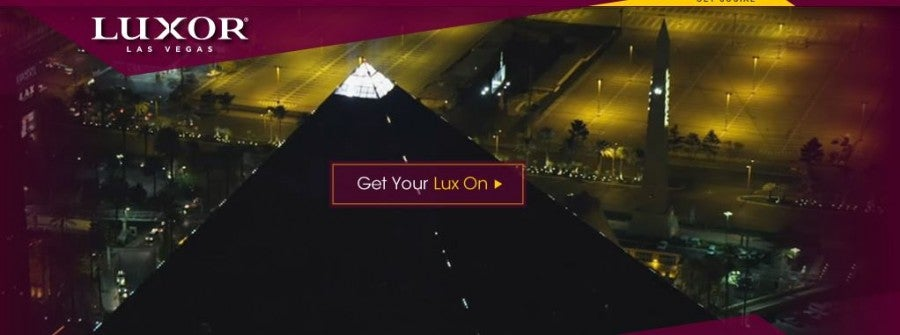Try for a Daily Getaway Las Vegas deal at the Luxor
