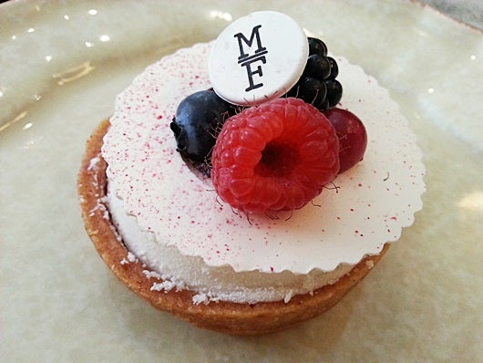A delicious pastry at Mama Framboise.