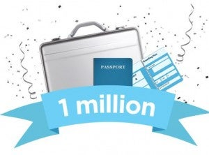 Win one million airline miles