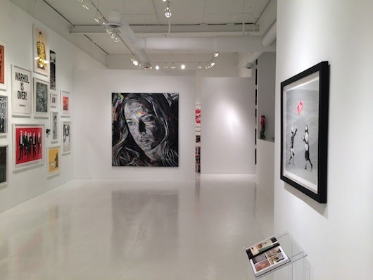 Inside Robert Fontaine Gallery in Wynwood