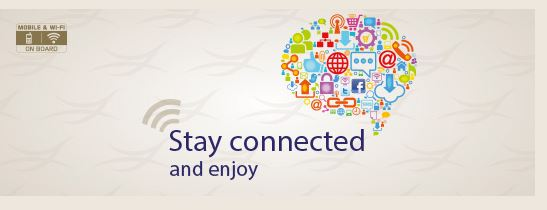 Free WiFi on Saudi Airlines if you are flying in First or Business class