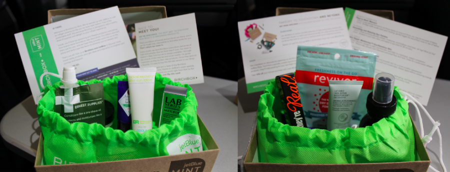 Men's and Women's curated Birchbox amenity kits