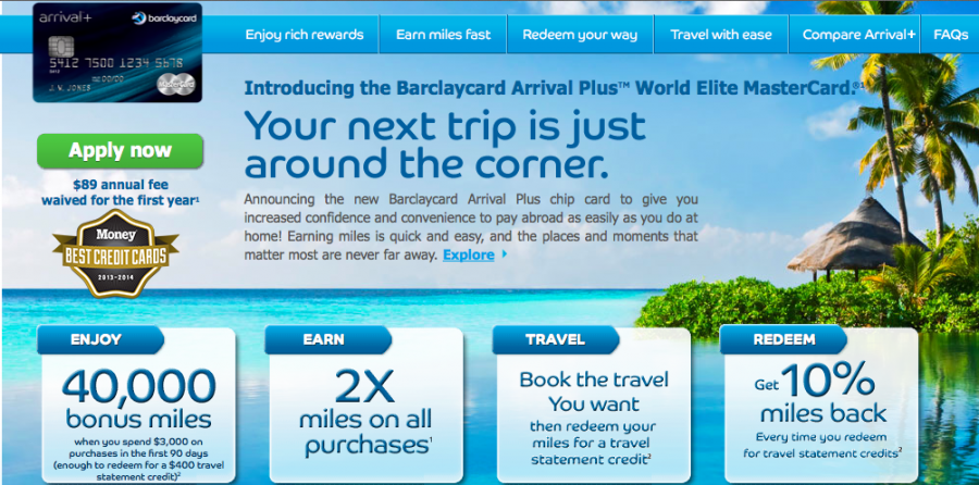 Barclaycard Arrival Plus points are both versatile and valuable for travelers
