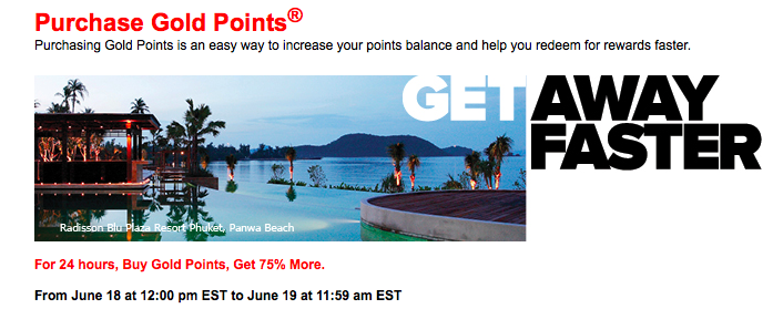 Club Carlson Flash Sale