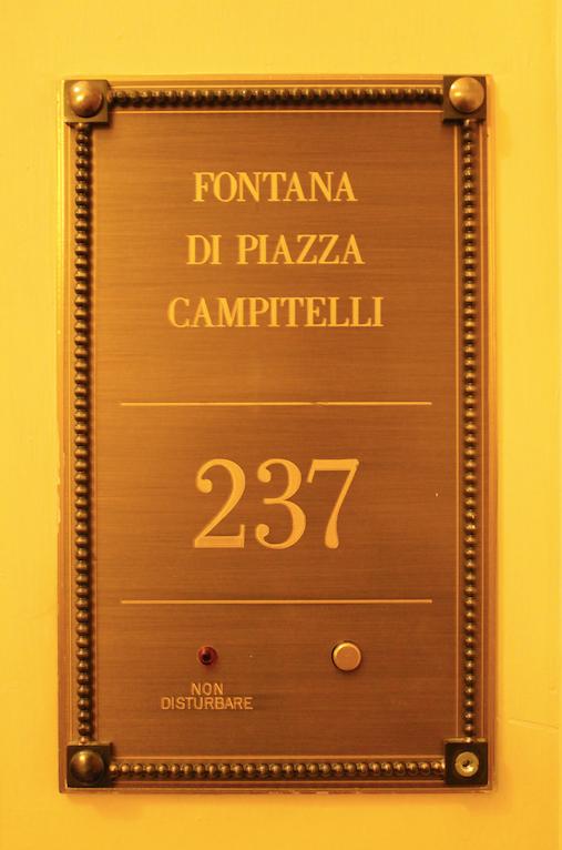 Room 237: Fontana Di Piazza Campitelli