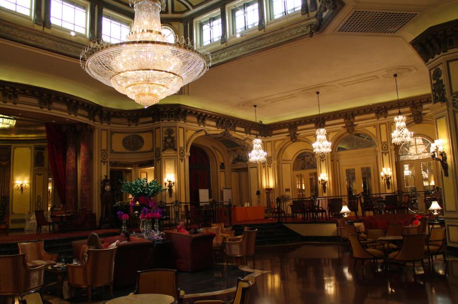 Lobby at the St. Regis Grand Rome