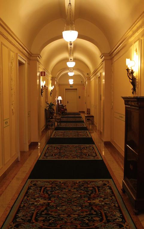 A grand hallway fits a grand property!
