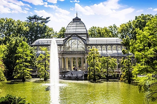 The Chrystal Palace in the Retiro Park. Image Image courtesy of Shutterstock.