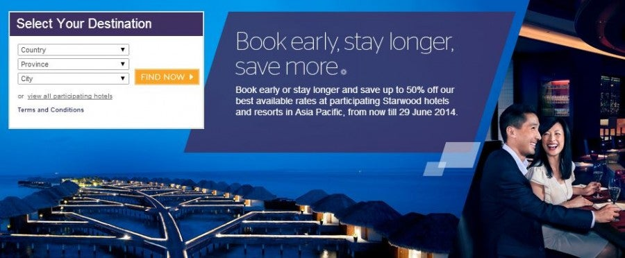 The Asia Pacific 50% off sale
