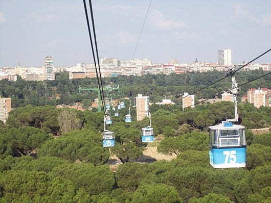 Many people don't know that Madrid has a cable car