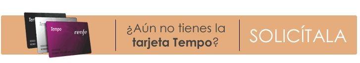 The Tarjeta Tempo, is the RENFE's loyalty program card