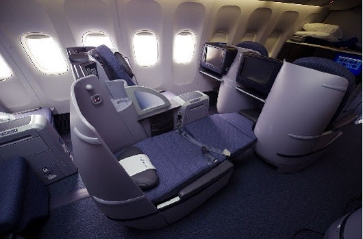 United offers its fully lie flat BusinessFirst product on its two daily flights between Newark and Tel Aviv.