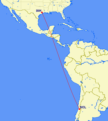 United launches nonstop service between Houston and Chile in December 2014